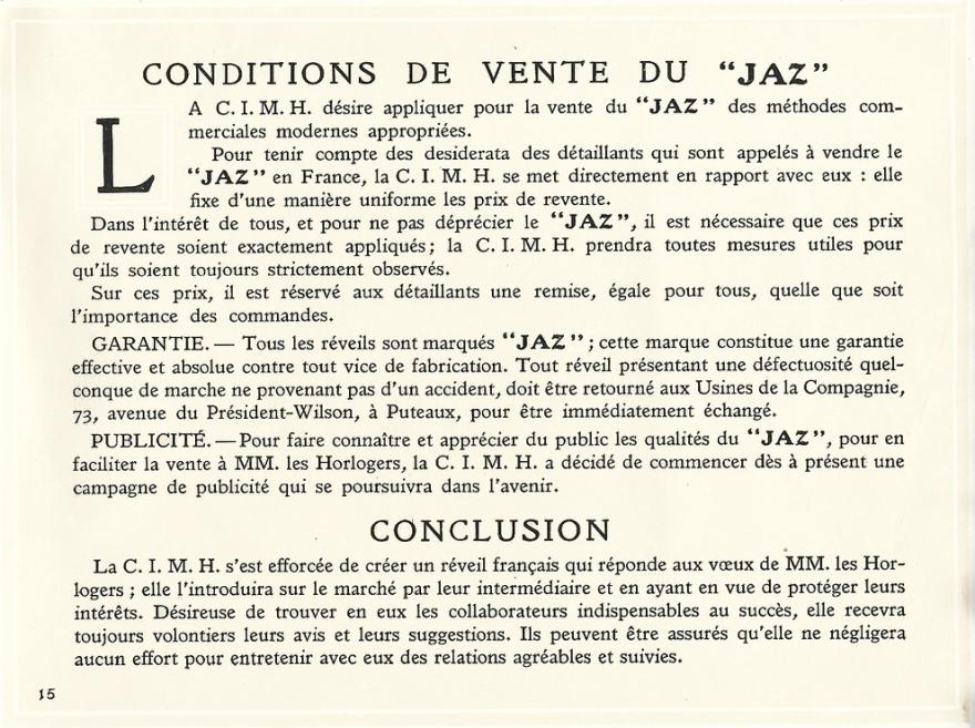 Prospectus 1923 page 15
