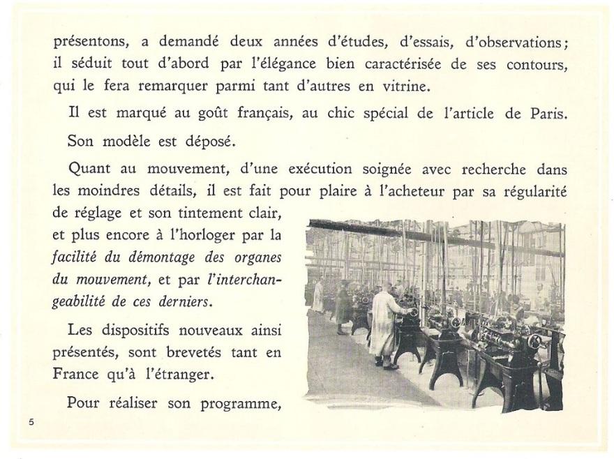 Prospectus 1923 page 5