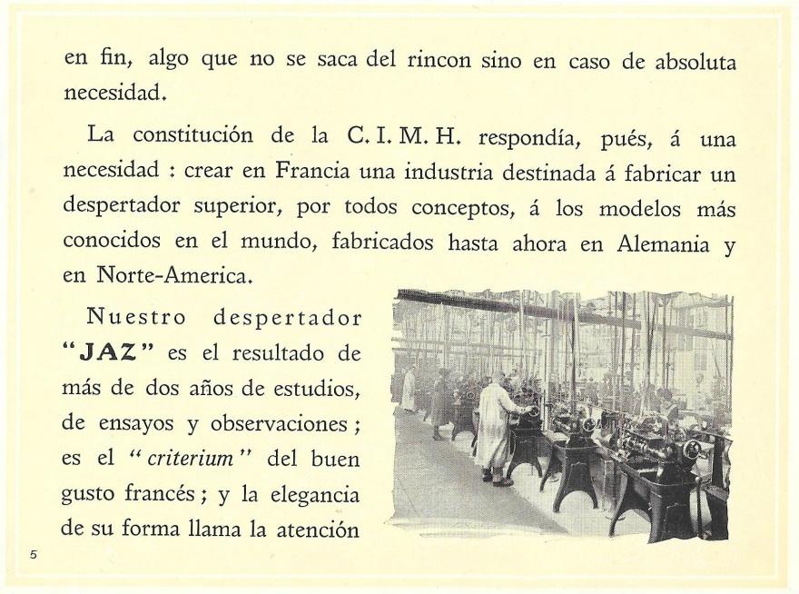 prospectus espagnol page 5