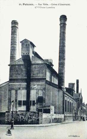 puteaux usine élec