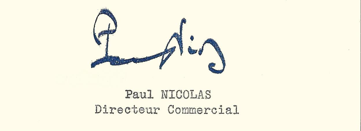 signature paul nicolas