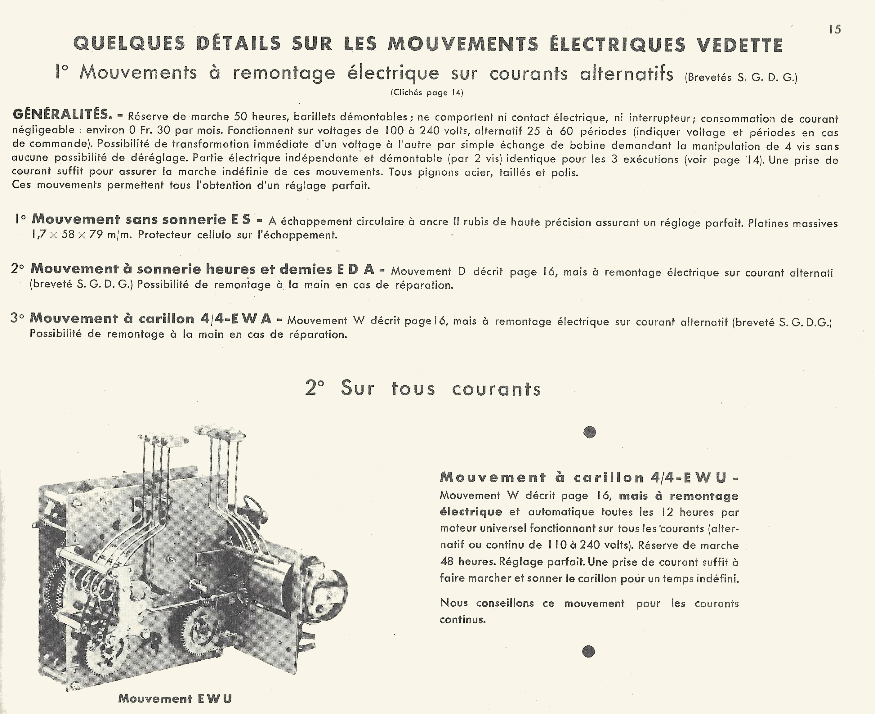 catalogue vedette 1935 1936