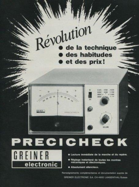 greiner electronic Precicheck