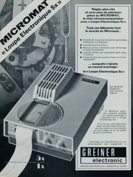 Greiner electronics Micromat