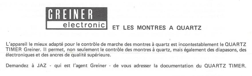 Jaz Actualités 2 Janvier 1975