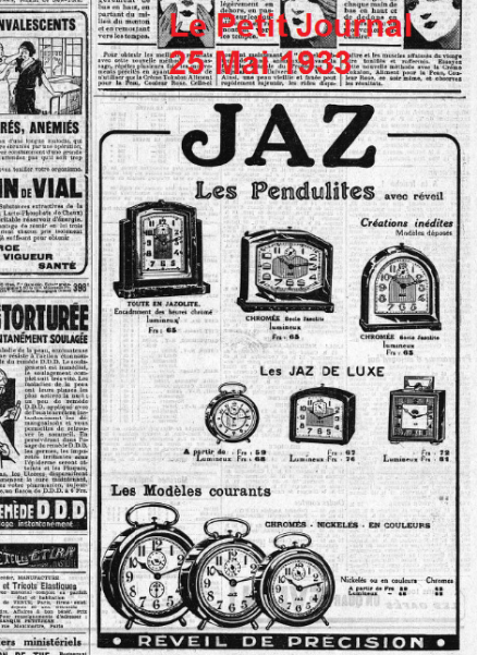 Le petit Journal 25 mai 1933
