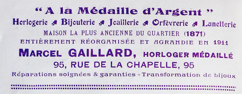 95 rue de la Chapelle