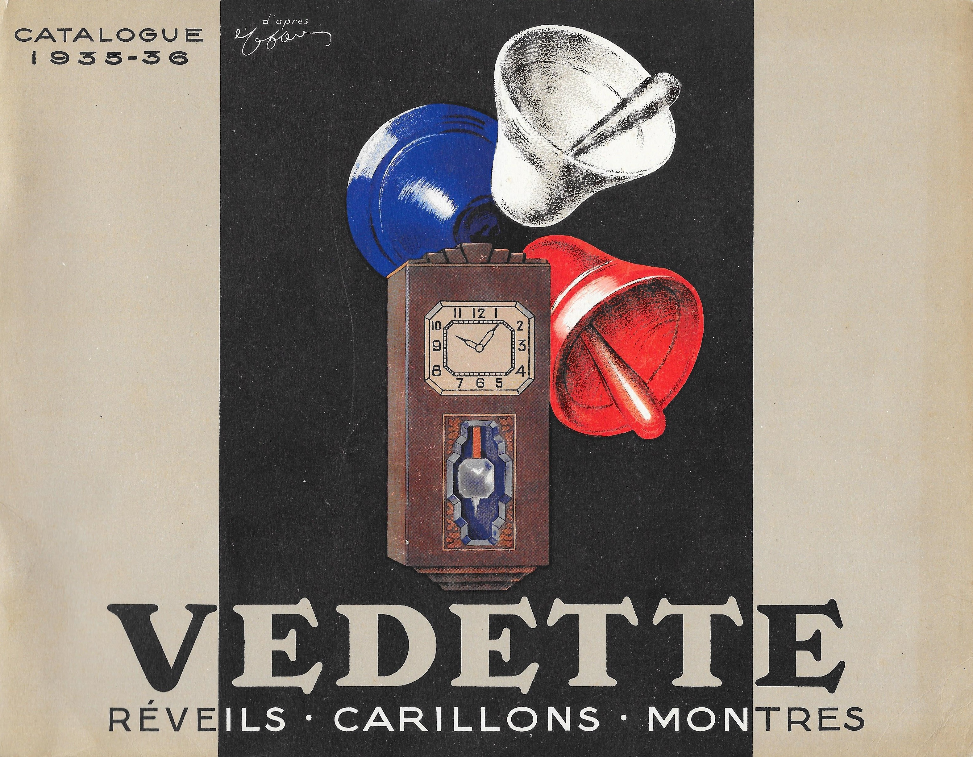 Vedette catalogue 1937