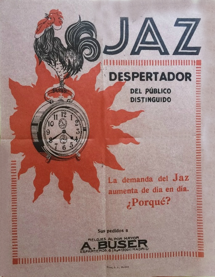 pub espagnole 27 x20 cm