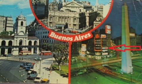 carte postale buenos aires