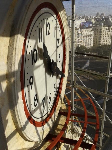 horloge façade el trust