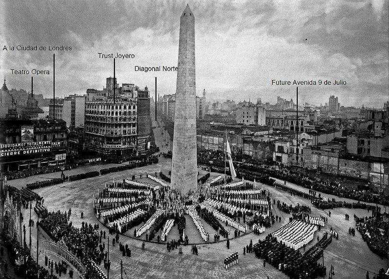 obélisque Buenos Aires 1936