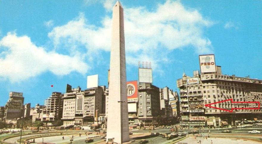 place de la république circa 1970