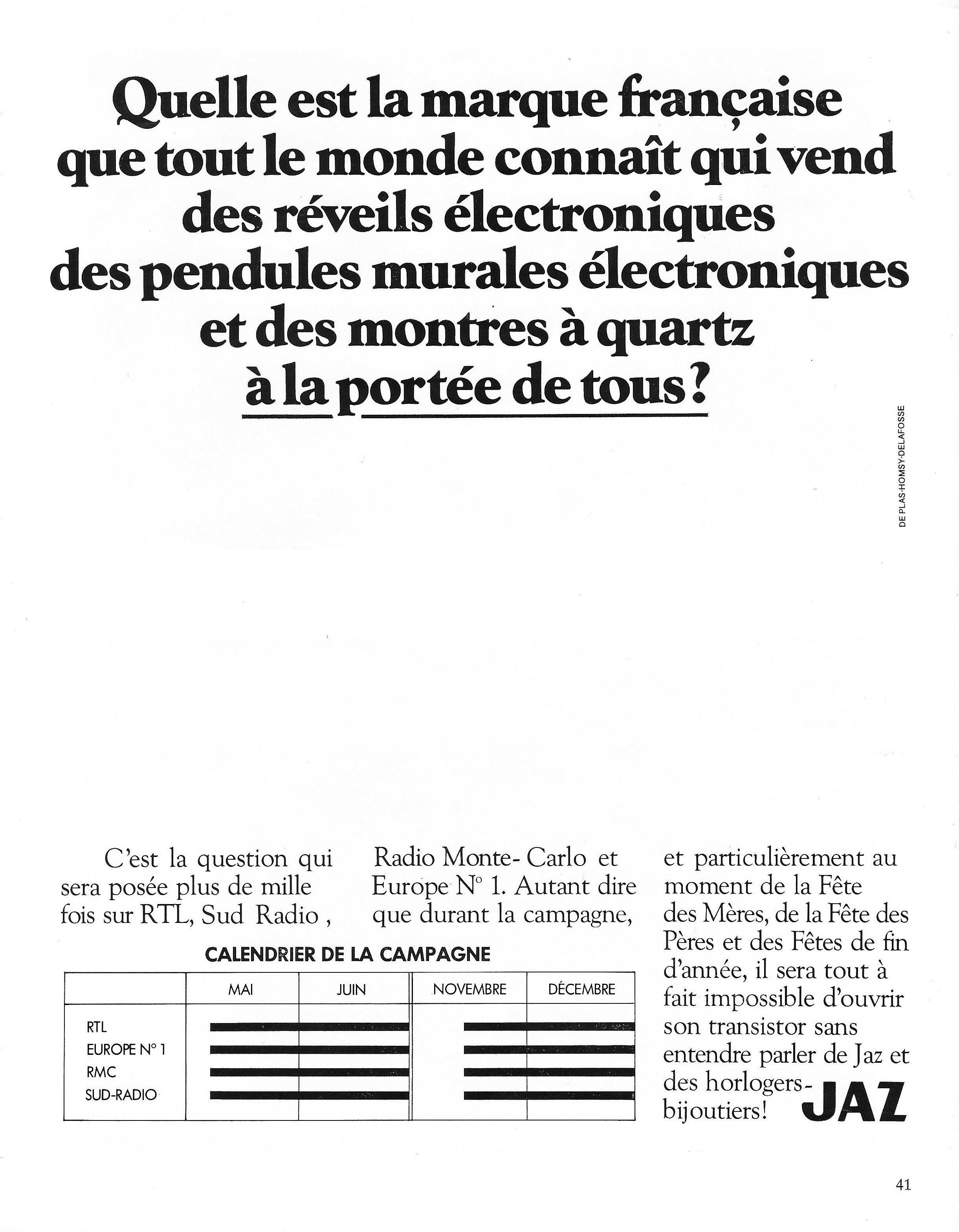 1977 La France Horlogère N°378 Mai 1977 a