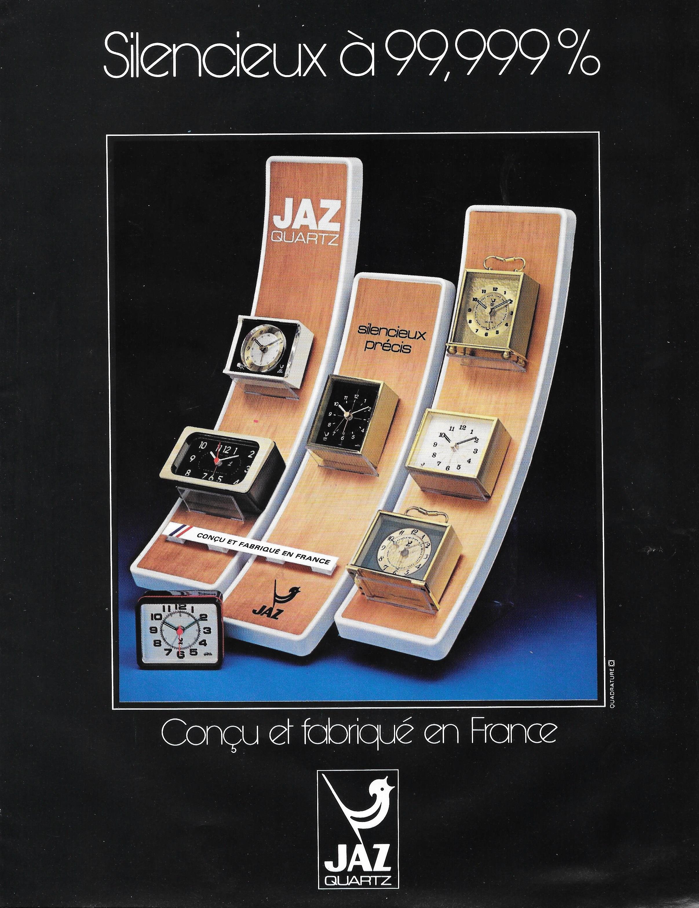 1978 La France Horlogère n°393 oct 78 Jaz Quartz présentoir