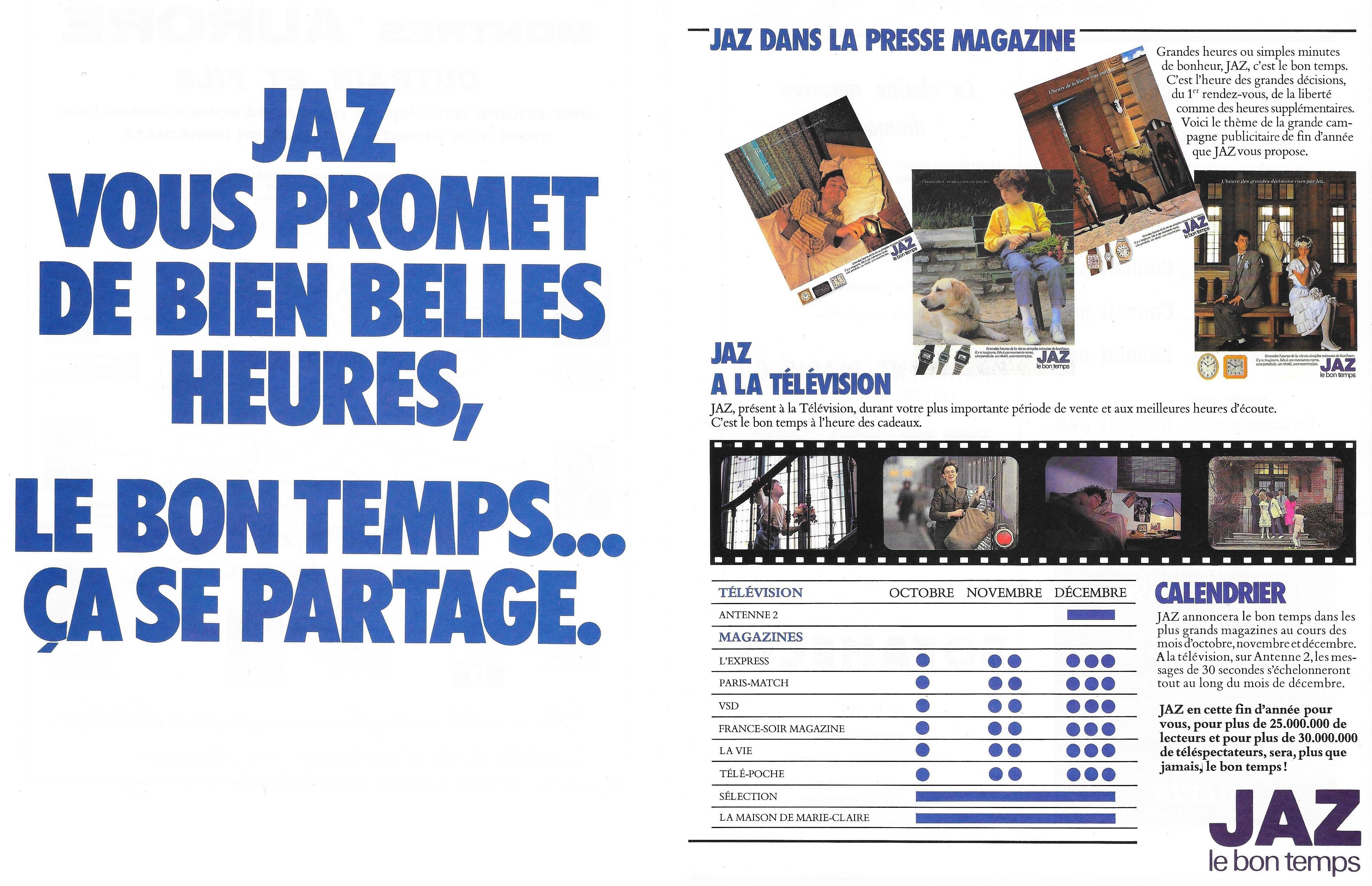 1982 La France Horlogère n°437 novemb 1982 page 24 et 25