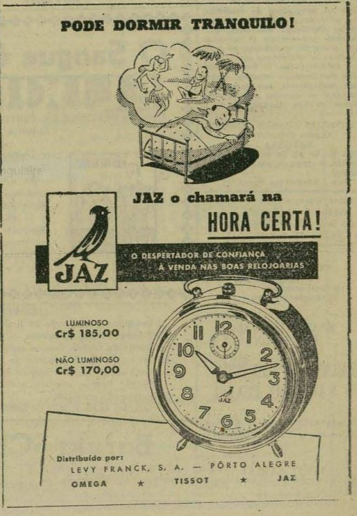 brazil Juin 1948 pub