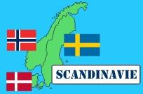 scandinavie drapeaux