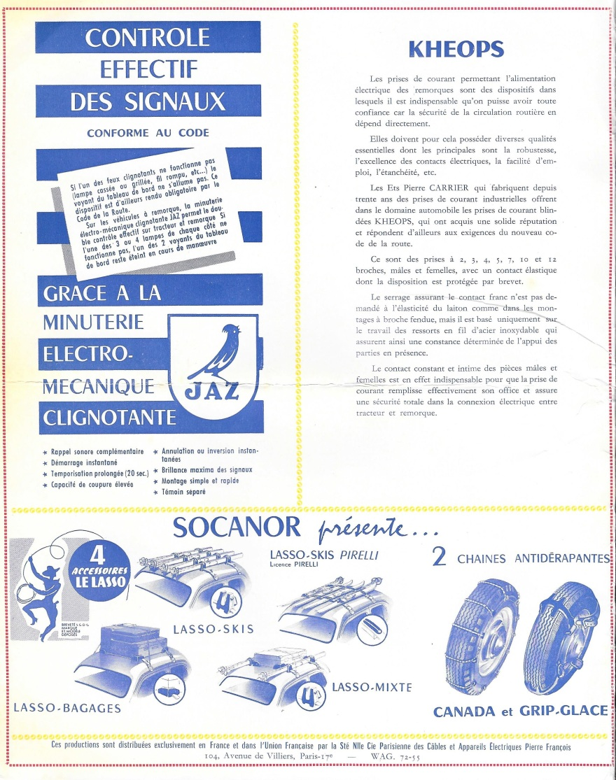 salon de l'auto 1957 1958 couverture 2