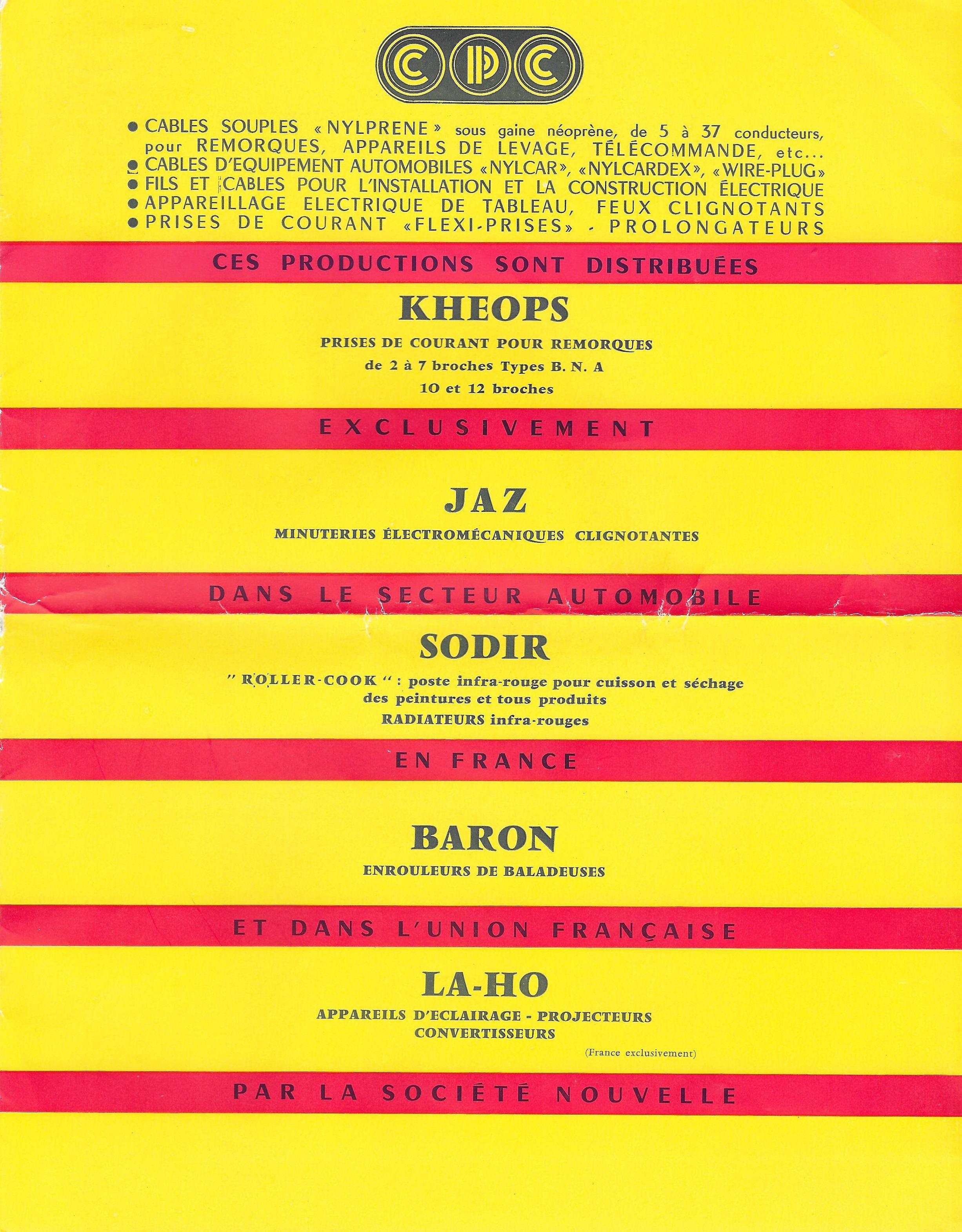 salon de l'auto 1957 1958 couverture 3