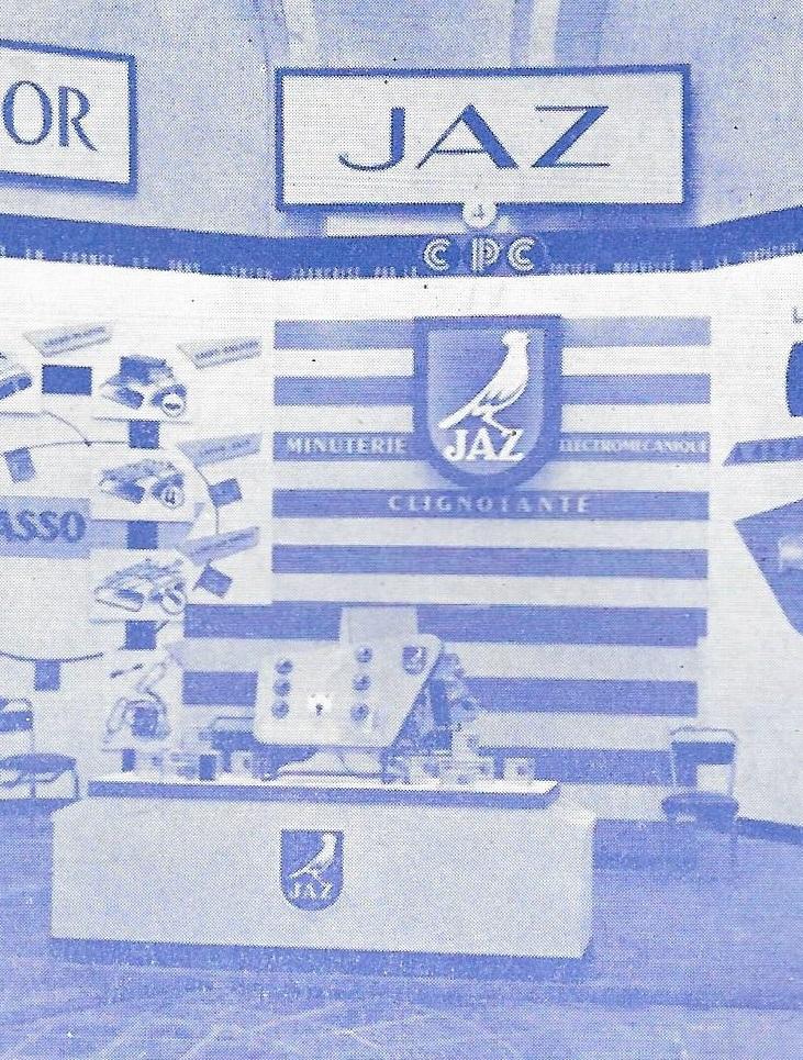 salon de l'auto 1957 1958 stand Jaz détail