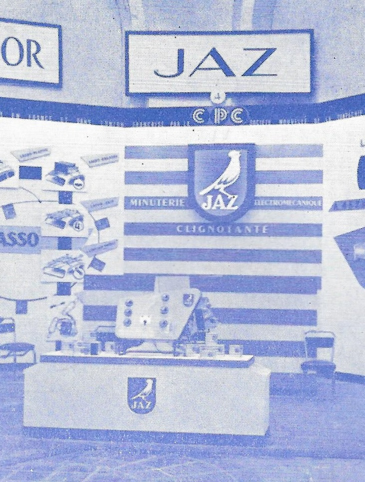 stand jaz au salon de l automobile 1957 58 clignotant. Black Bedroom Furniture Sets. Home Design Ideas