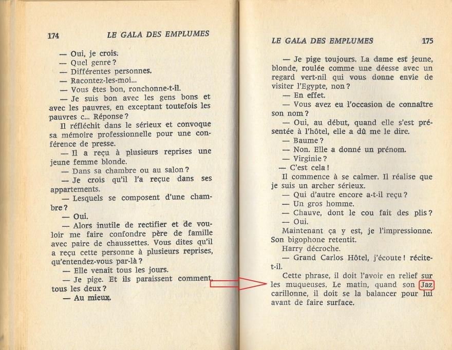 San Antonio Le Gala des Emplumés page 174 175