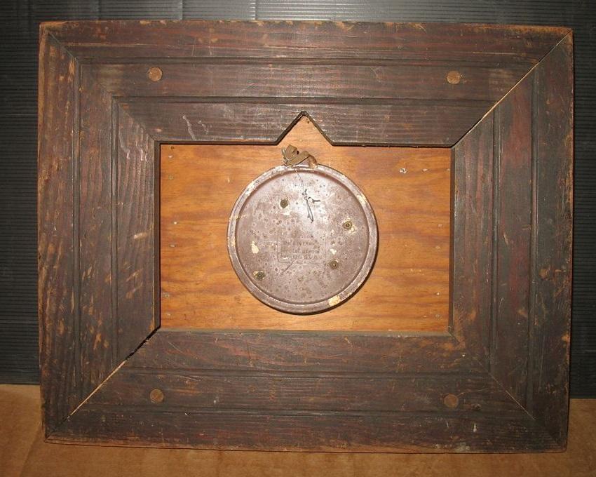 1945 horloge bois