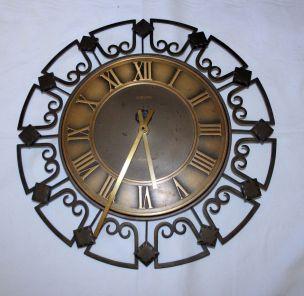 Europa-elomatic-Wanduhr-aus-Schmiedeeisen-mit-Quartz-Uhrwerk