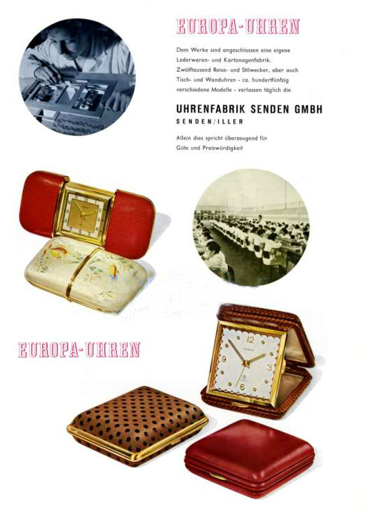 europa werbung 1956