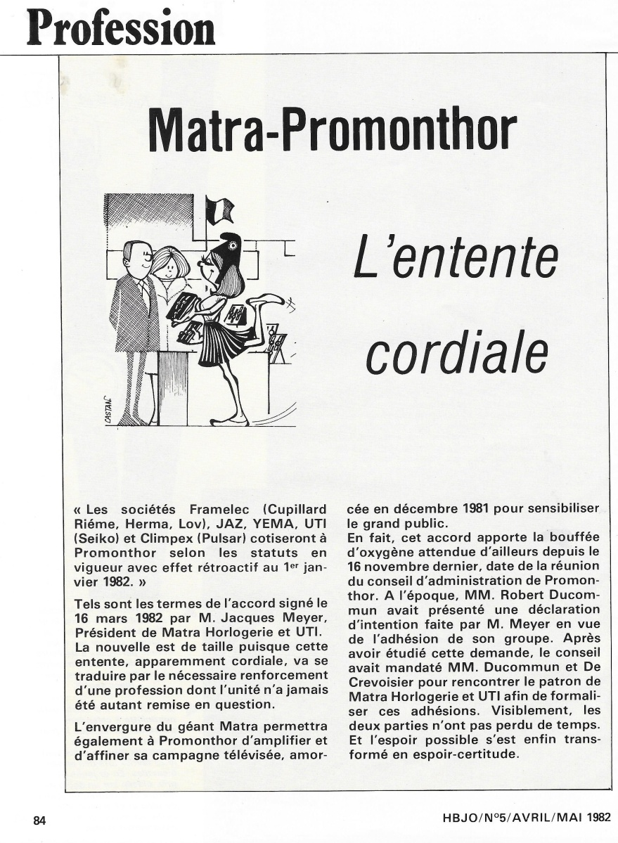 HBJO n°5 Avril Mai 1982 matra