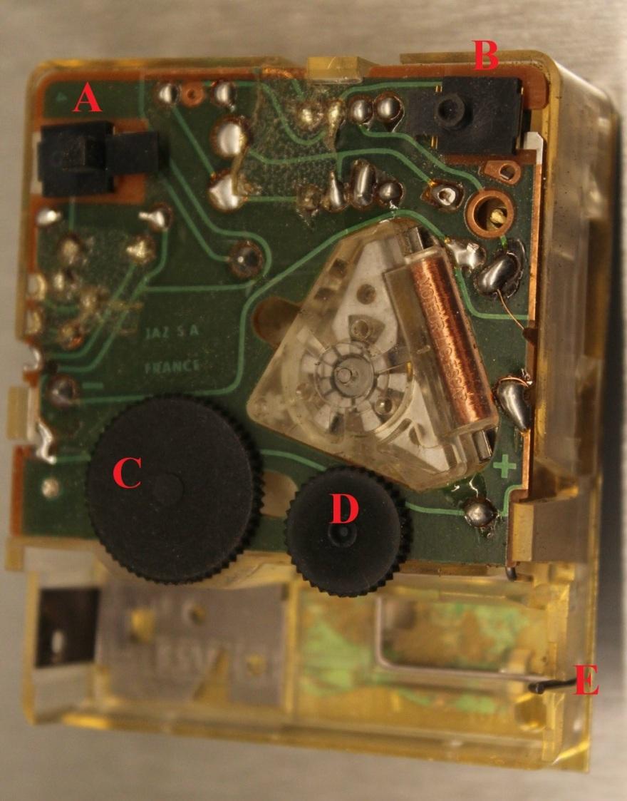 calibre rk détails
