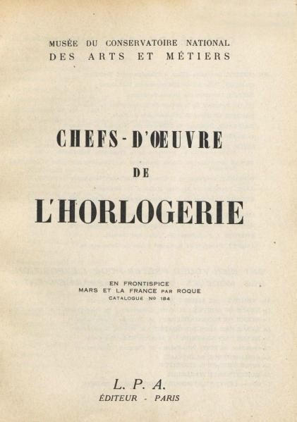 1949 CNAM page 0
