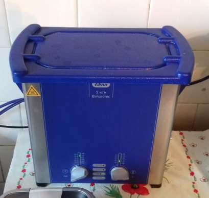 3 nettoyage du mécanisme à la machine à ultra son