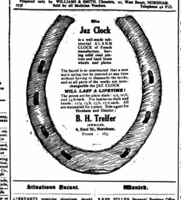 1925 janv 24 West Sussex County Times
