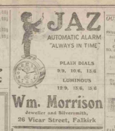1926 oct 9 The Falkirk Herald