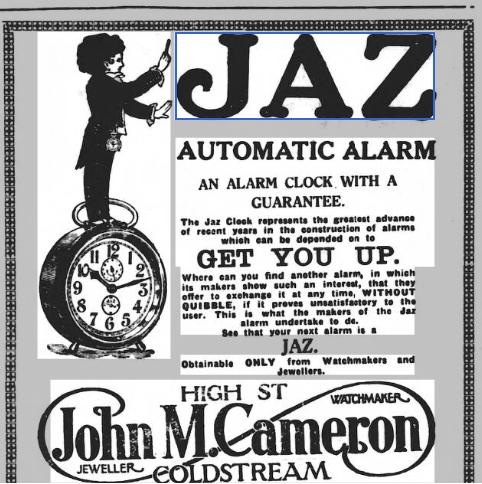 1927 fev 17 The Berwick Advertiser