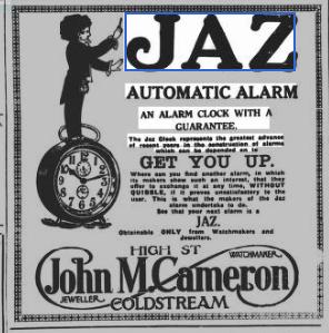 1927 fev 3 The Berwick Advertiser