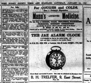 1927 janv 15 west sussex county times