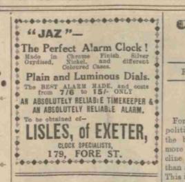 1931 mars 20 the Devon and Exeter Gazette