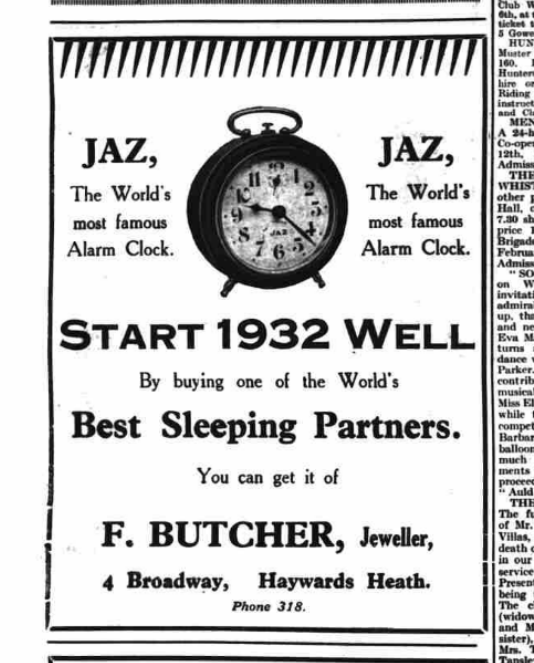 1932 janv 5 The mid sussex Times