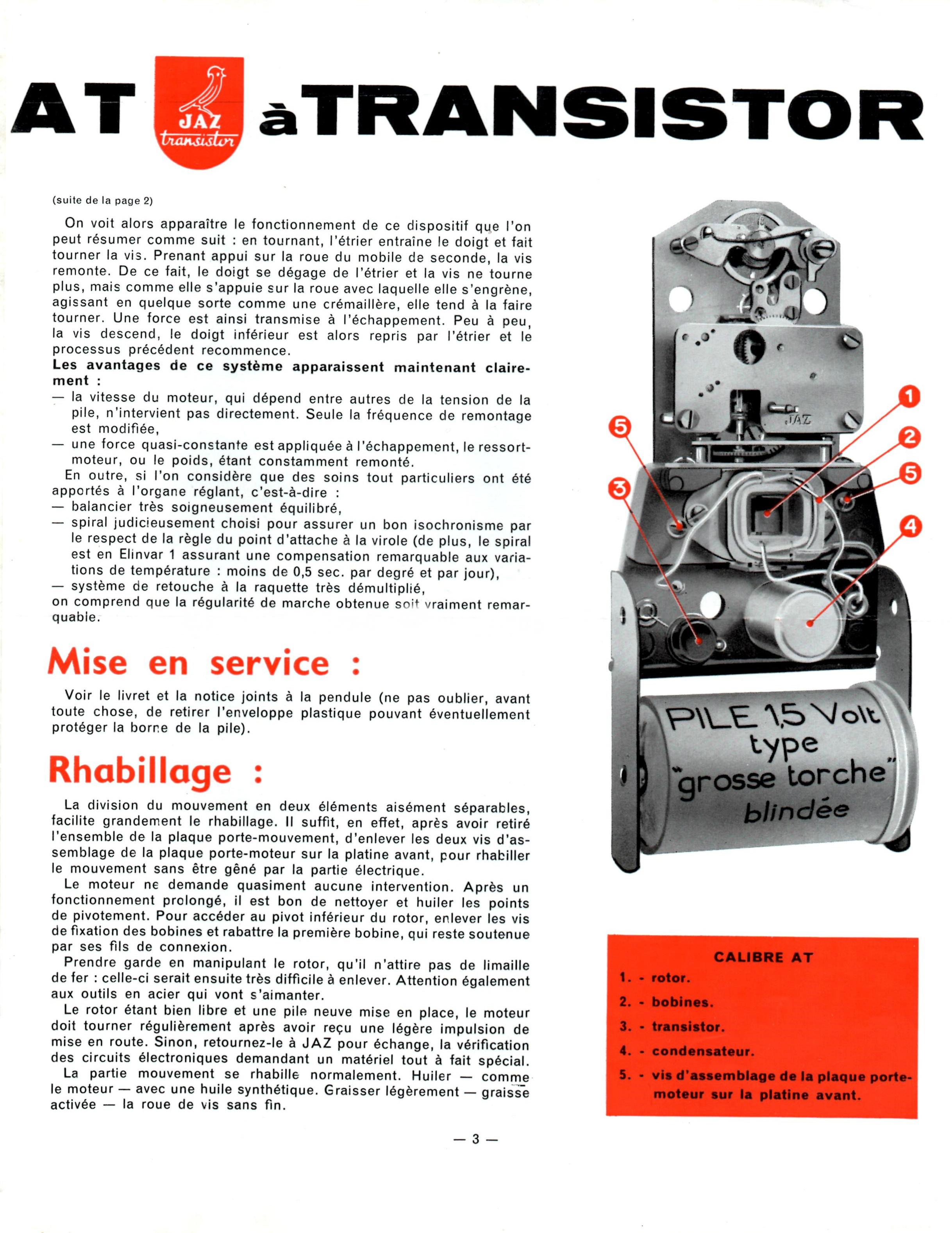 calibre AT Jazette n°39 Déc 59 page 3