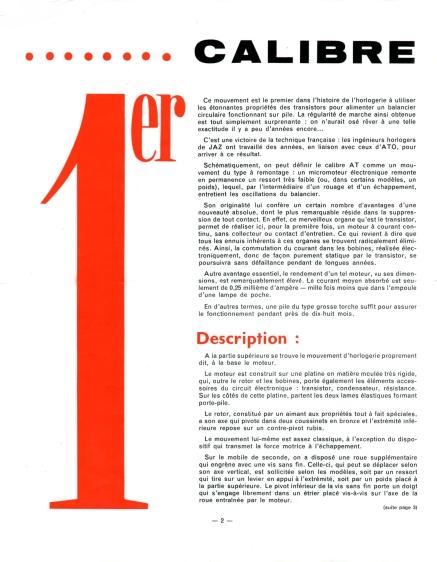 calibre AT Jazette n°39 Déc 59