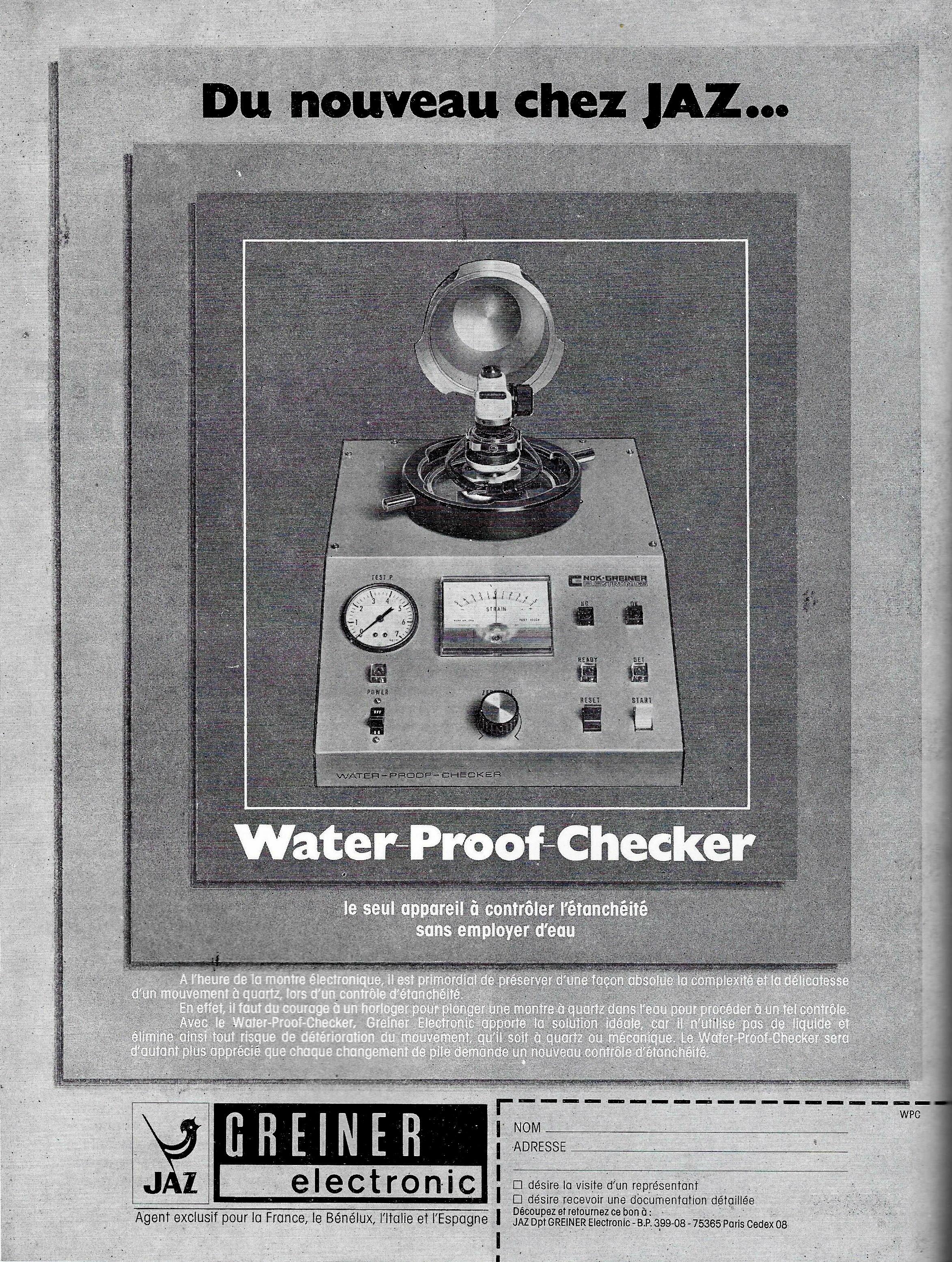 La France Horlogère °389 Mai 1978
