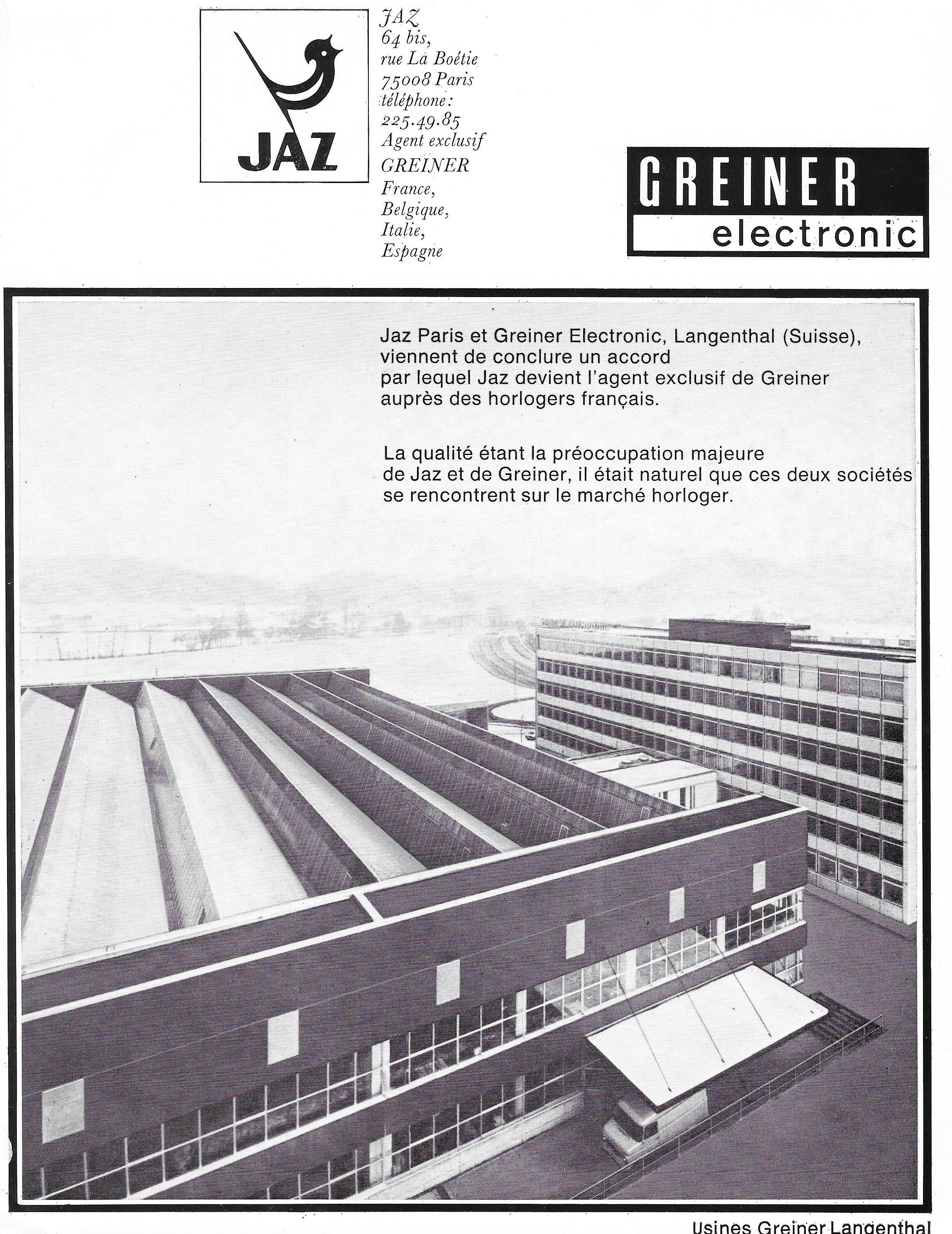 La France Horlogère n°345  juillet 1974  .jpg