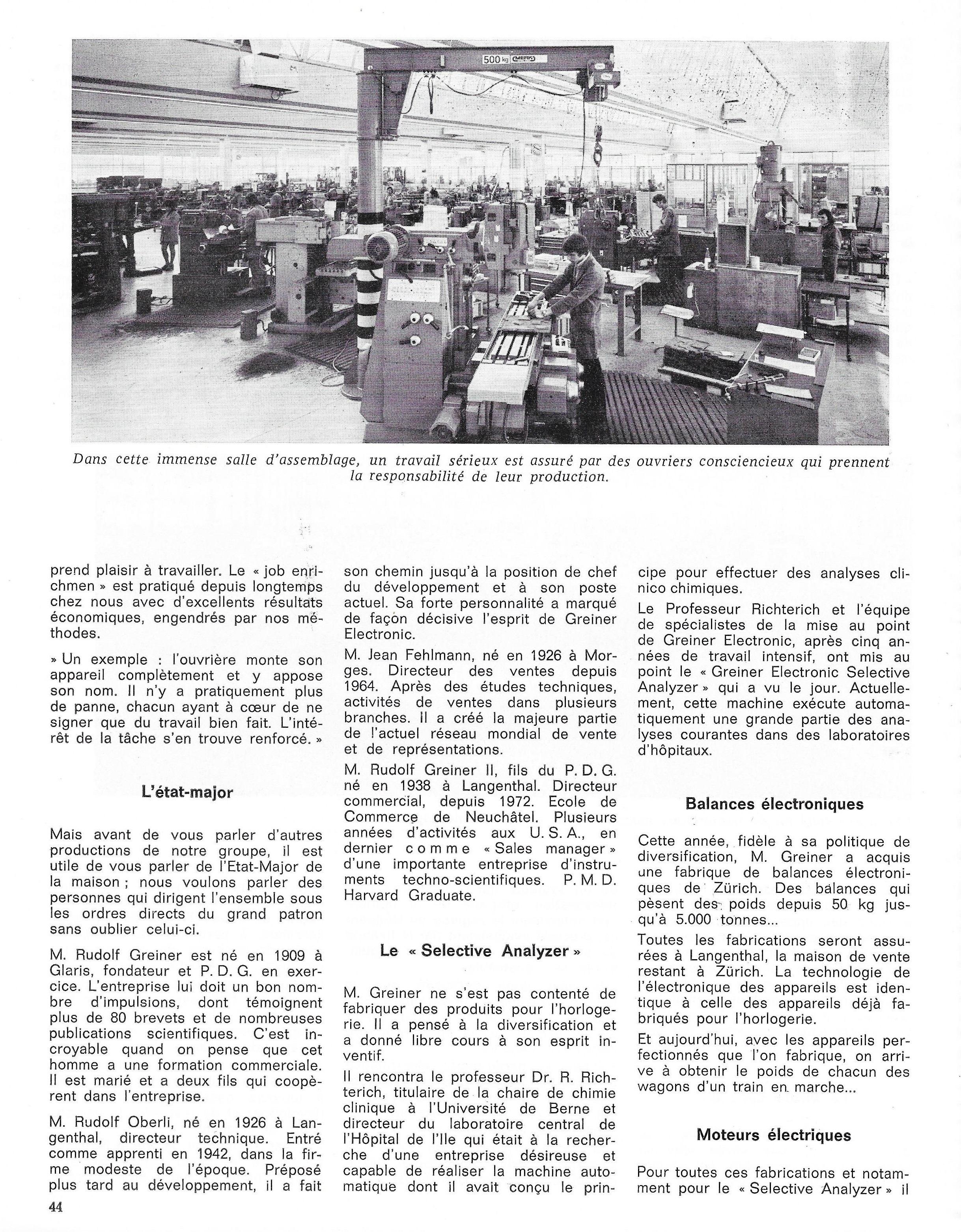 La France Horlogère page 44