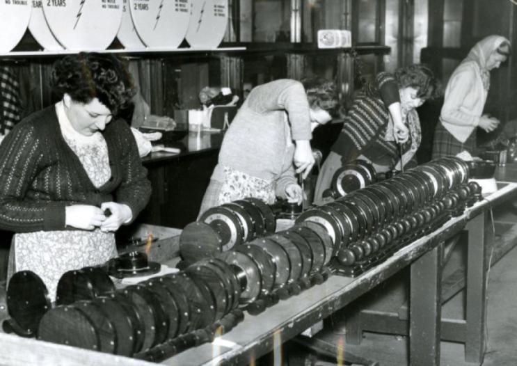 metamec usine Metamec 1954