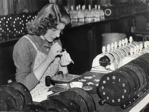 Metamec usines clocks Dereham, 2nd March, 1954