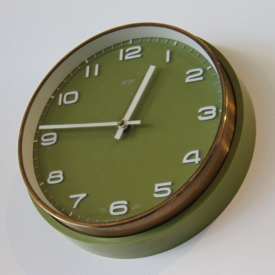 metamec-wall-clock