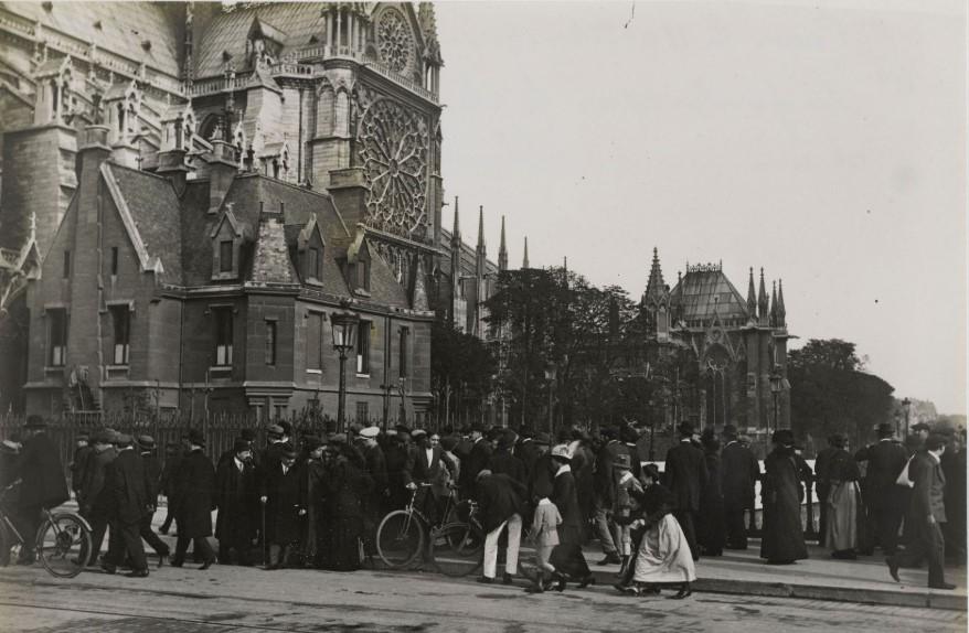 11 octobre 1914 la foule
